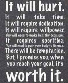 so worth it! what is your goal?