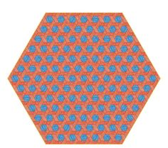 QS_0483_Hexagon Carpet Red-Blue by Studio Job for Moooi Carpets 300dpi