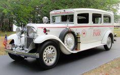 1932 Nash Series 990 ambulance...just beautiful....