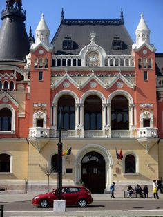 All sizes | Oradea - Union square (Greek Catholic Bishopric Palace) | Flickr - Photo Sharing! Bucharest Romania, Union Square, Commercial Architecture, Medieval Town, European Countries, Palace, Art Nouveau, Catholic, Greek