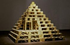 """Construire, 1, 2, 3"" (1985/87) Jean-Luc Vilmouth"