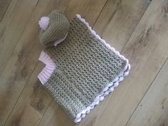 Ravelry: Child poncho and baret pattern by Ramona Smiers