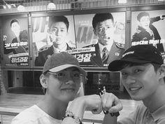 BTS V & PARK SEO JOON
