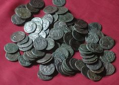 100  Authentic Ancient ROMAN bronze Coins Genuine Antique from 240-410 ad    ANCIENT ROMAN COIN  from 240-410 AD    in condition similar to the examples shown in the photos.  We ship Worldwide.  Item to be shipped 2-3 days after payment received.  Items (could be multiple) will be shipped as Registered letter , shipping & handling     I guarantee that these coins are absolutely genuine! | Shop this product here: http://spreesy.com/ancientcoinstore/189 | Shop all of our products at…