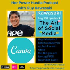 Podcast interview with Guy Kawasaki for The Art of Social Media