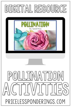 Don't spend hours planning your life science class. Grab some easy to use digital resources to help your class learn about pollination. Science Curriculum, Science Resources, Interactive Activities, Science Activities, Writing Activities, Life Science, Fun Writing Prompts, Sentence Writing, Cool Writing