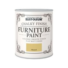 Find Rust-Oleum Chalky Furniture Paint - Strawberry Vanilla - at Homebase. Visit your local store for the widest range of paint & decorating products. Gray Painted Furniture, Blue Furniture, Painting Furniture, Pine Wardrobe, Coffee Jars, Old Mirrors, Paint Brands, Shabby Vintage, Furniture Restoration