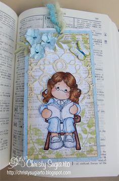 Christy Designs: Editor Tilda-Book mark