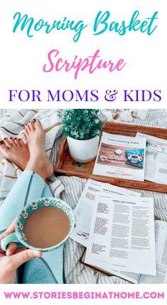 Morning Basket Homeschool. Homeschool Bible Study. Bible Study for Homeschool Moms.