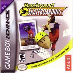 Backyard Skateboarding - Nintendo Game Boy Advance Video Game from 2005  #Atari