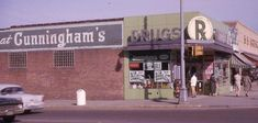 Cunningham's Drug Store about 1964 - It had a great soda fountain.