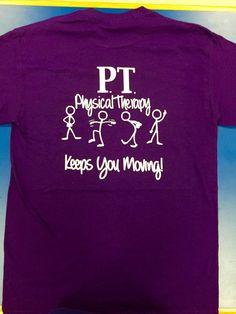 Camiseta de terapia física