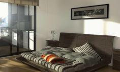 Dormitorios Iluminados y ventilados