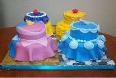 Princess Cakes I finally made them!!! So glad it's over....