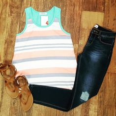 Get this cute outfit at www.britavenue.com!