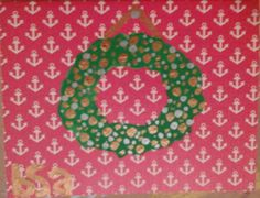 Check out this item in my Etsy shop https://www.etsy.com/listing/211694020/christmas-wreath-with-anchor-background
