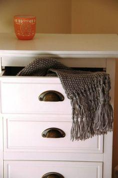 Cachecol em tricot