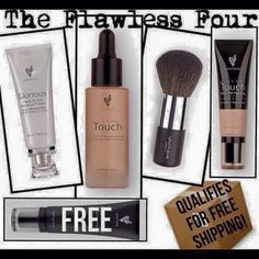 Free Eye Primer!! And free shipping And flawless skin with Youniques Airbrush in a bottle and powder puff brush!
