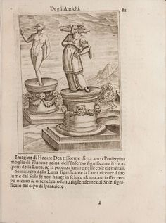 'Images Depicting the Gods of the Ancients' by Vincenzo Cartari was first published in 1556.