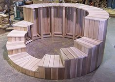 Wood Hot Tub Surrounds