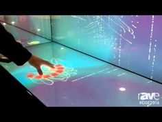 DSE 2016: Multitaction Demos iWall With Unique Interactive Touch Technology - YouTube