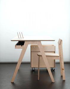 Plywood Office Desk - Best Led Desk Lamp