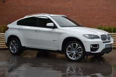 BMW X6 -Alpine White my next car/ truck I love this truck hey boyfriend / fiancé somebody I need this STAT!! Lol : )