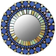 Great way to add color ... (product by Zetamari, Elegan Mosaic Mirriors).
