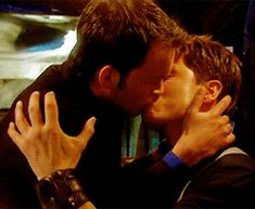 Jack and Ianto<--- I have no idea who they are or where they are from but god!! This is so intense and smexy! Yummy!