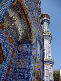 Sachal Sarmast Shrine in Daraza Sharif village, Pakistan