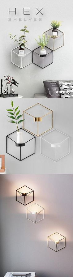 Hex Planter Shelves ★★★★★ (5/5)