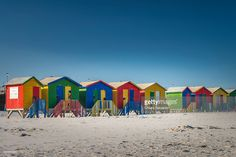 Muizenberg Beach | Western Cape, South Africa | #stockphotos #gettyimages #print #travel