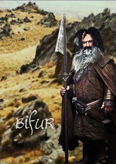 healthy insanity — Bifur the dwarf The Hobbit: The Desolation of Smaug