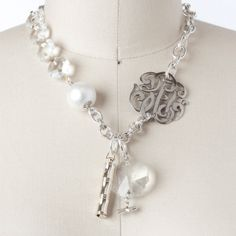 I so want this John Wind necklace, I just want the big Anchor charm added also!