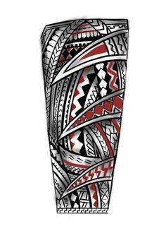 Forearm Samoan Tattoo