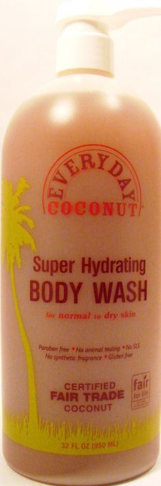 VERY affordable!! Everyday Coconut Super Hydrating Body Wash 32 oz for $13.99 Beauty Tips, Beauty Hacks, Diet Supplements, Animal Testing, Acne Prone Skin, Body Wash, Dry Skin, Fragrance, Coconut