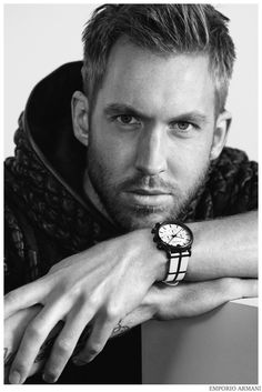Calvin Harris Strips Down to His Underwear in New 'Emporio Armani' Ads - See the Pics Here!: Photo Calvin Harris shows off his package in these brand new images as the new face of Emporio Armani! The Scottish DJ and music producer strips down to… Emporio Armani, Giorgio Armani, Calvin Harris, Olivia Munn, Nicki Minaj, Taylor Swift Fotos, Armani 2015, Armani Models, Underwear