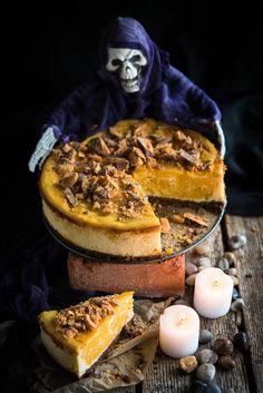 Kurpitsa-juustokakku // Pumpkin Cheesecake Food & Style Mika Rampa, Perinneruokaa prkl Photo Mika Rampa www.maku.fi