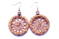 mataza mataza on Etsy Crochet Earrings, Etsy Seller, Creative, Ear Jewelry, Handmade, Crocheting