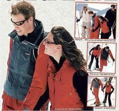 First pictures of William and Kate as a couple