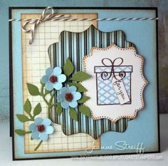 For You by The Stamps of Life, via Flickr- love this layout