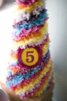 5th birthday party hat