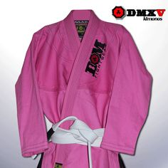 For those of you who love a pretty pink mma, or jiu jitsu Gi, check out the DMX V from DOM Gear.