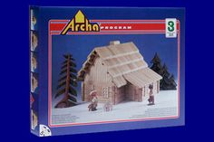 Wooden Construction Kit,High Quality,Traditional Folk Architecture,Education,Develops imagination,System of building sets by CzechTraditionTrade on Etsy