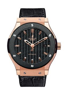 Classic Fusion King Gold Ceramic Automatic watch from Hublot