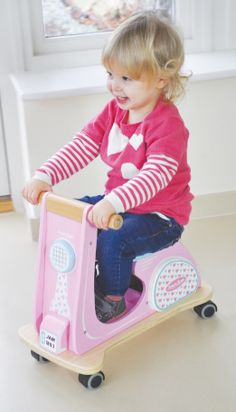jamm scoot pink racer-NEW - Indigo Jamm designer toys from a UK based company