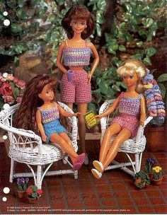 gift presents for kids: barbie fashion | make handmade, crochet, craft