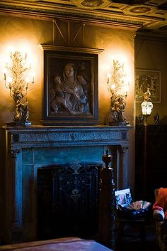 North Bedroom in the Doge's Suite, Hearst Castle, San Simeon CA