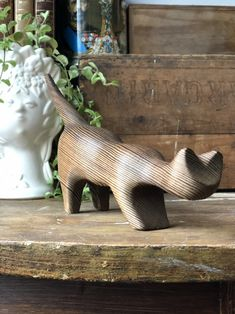 Excited to share this item from my shop: Midcentury modern hand carved wooden cat by Nils Strandin Swedish hygge wood carving Wooden Cat, Shelfie, Wooden Bowls, Close Up Photos, Midcentury Modern, Hygge, Wood Carving, Hand Carved, Scandinavian