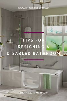 The white bathroom attracts with simplicity, purity and timeless elegance. If you are thinking of decorating your bathroom all in white. Ada Bathroom, Handicap Bathroom, Rustic Bathroom Vanities, Small Bathroom, Bathroom Wallpaper, Industrial Bathroom, Bathroom Fixtures, Bathroom Ideas, Bathroom Design Layout